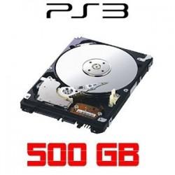 Disque dur PS3 500 giga + installation