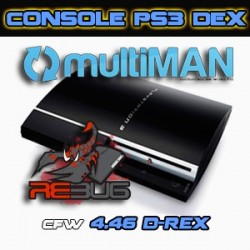 Console PS3 Fat CFW DEX Occasion
