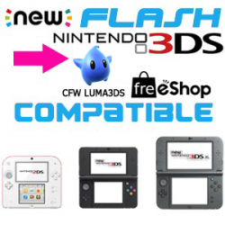 Flash 3DS 2DS NEW + cfw Luma