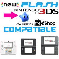 Flash 3DS 2DS NEW + cfw Luma