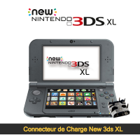 Réparation connecteur de charge New 3ds XL