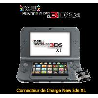 Réparation connecteur de charge New 3ds XL