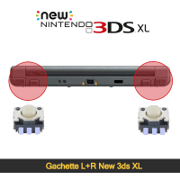 Réparation bouton l + r New 3ds XL