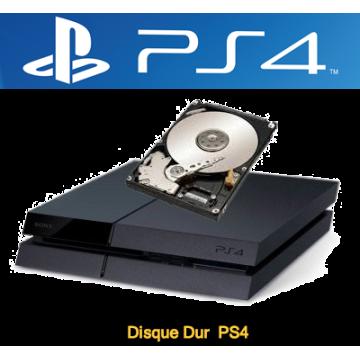 Réparation disque dur ps4