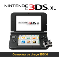 Réparation connecteur de charge 3ds XL Paris