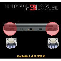 Réparation gachette l et r 3ds XL Paris