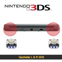 Réparation gachette L et R 3ds Paris