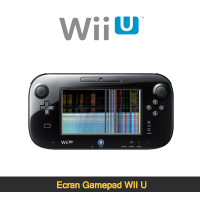 Réparation ecran lcd gamepad wii u paris