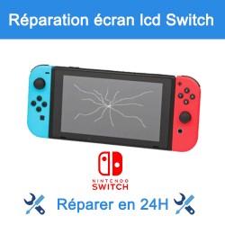 Réparation écran lcd nintendo switch Paris