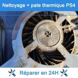 Nettoyage - remplacement pâte thermique PS4