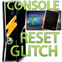 Console xbox 360 SLIM + hack reset glitch