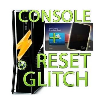 Console xbox 360 SLIM + hack reset glitch