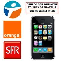 deblocage iphone toutes opérateur - paris
