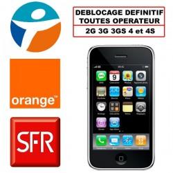 deblocage iphone tout opérateur - paris