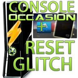Console xbox 360 occasion + hack reset glitch