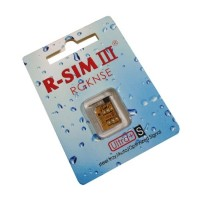 Carte R-Sim 3 iphone  4s