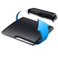 Remplacement alimentation PS3 slim